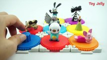Color Balls Surprise Cups Pokemon Go toys, Diseny Surprise Eggs, Frozen, Piglet , Oswald R