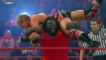 Raw  MVP vs. Mark Henry vs. Carlito vs. Jack Swagger