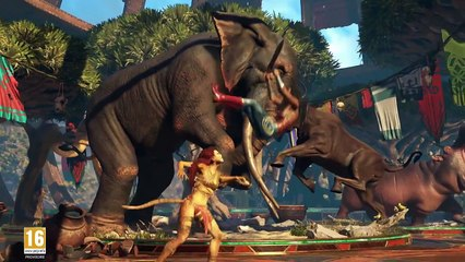Gameplay Cheetah de Injustice 2