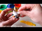 Lets Make Hello Kitty Cupcake with PLAY-DOH Modeling Video-Fun 3D Modeling Video