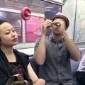 La solution pour dormir tranquille dans le metro