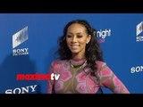 """Keri Hilson Gorgeous! """"About Last Night"""" Los Angeles Premiere Red Carpet Arrivals"""