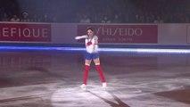 Cette patineuse déguisée en Sailor Moon a beaucoup de succès pendant son show - Evgenia Medvedeva