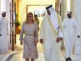 Kolinda Grabar-Kitarović boravila je u službenoj posjeti Državi Katar