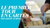 Election : le premier tour en cartes décrypté en 3 minutes par Hervé Le Bras