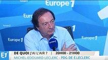 """Michel-Édouard Leclerc : """"Lorsqu'on est PDG, on porte une cause, une marque, il faut se donner à fond"""""""