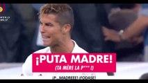 Les insultes de Cristiano Ronaldo sur le but de Lionel Messi lors du Clasico