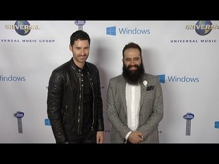 capital cities 2014 umg post grammy party red carpet arrivals grammys