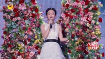 "赵丽颖《不可说》2016全球华侨华人春晚 Zhao Li Ying Performing ""Can't Be Said"" (Journey of Flower OST)"