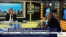 Jean-Claude Mailly commente la décision de Force ouvrière de ne pas donner de consigne de vote pour le second tour de la présidentielle - 25/04