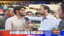 Waseem Badami meets PMLN Supporter in Lahore