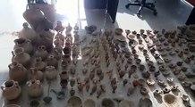 Operacioni - Grabisin 230 objekte arkeologjike në Apoloni, dy në pranga e dy në kërkim