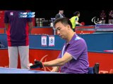 Table Tennis - KOR versus TPE - Men's Singles - Class 4 Group E - London 2012 Paralympic Games