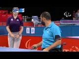 Table Tennis - TPE versus EGY - Men's Singles - Class 5 Group C - London 2012 Paralympic Games