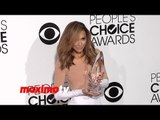 Naya Rivera WINS People's Choice Awards 2014 - Red Carpet Arrivals - TV Gal Pal Award