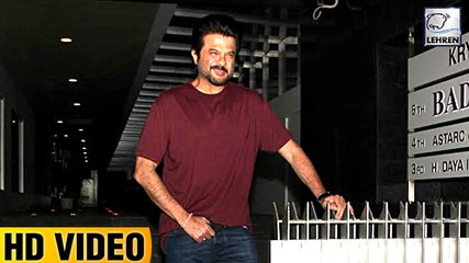 Anil Kapoor Goes Out For Dinner With Family