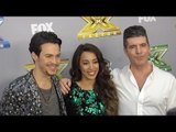 "Alex and Sierra and Simon Cowell ""The X Factor"" USA Season 3 Finale Red Carpet Arrivals"