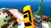 SPIDERMAN COLOR & BMW M3 Cars COLORS EPIC COLORS CARS PARTY & Nursery Rhymes Songs