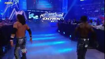 SmackDown  Cryme Tyme s Shad attacks his own partner, JTG