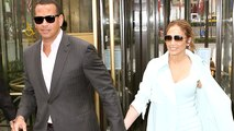 Jennifer Lopez And Alex Rodriguez On a Lunch Date
