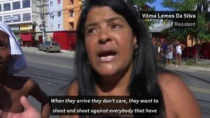 Brazilians protest after gun battles kill four