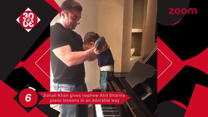 Sohail Gives His Nephew Ahil Piano Classes,Shraddha's Transformation In Haseena