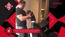Sohail Gives His Nephew Ahil Piano Classes,Shraddha's Transformation In Haseena