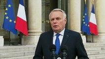 Déclaration de Jean-Marc AYRAULT à l'issue du Conseil de défense