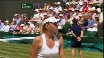 Maria Sharapova, ses plus grands cris sur le court