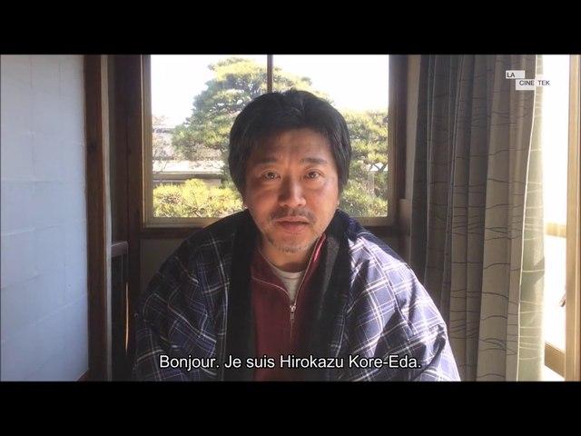 "Hirokazu Kore-eda à propos de ""Voyage à Tokyo"" de Yasujirô Ozu (extrait)"