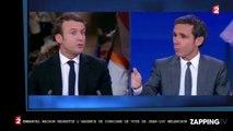 Emmanuel Macron règle ses comptes avec Jean-Luc Mélenchon sur France 2 (Vidéo)