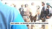 Gaz sarin : la France accuse Bachar al-Assad - Monde