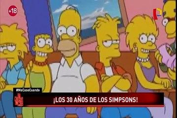 Los Simpson: una de las familias más famosas de la TV cumplió 30 años