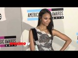 Zoe Saldana 2013 American Music Awards Red Carpet - AMAs 2013