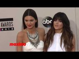 Kendall Jenner & Kylie Jenner 2013 American Music Awards Red Carpet - AMAs 2013