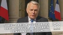 Syrie: Paris accuse Damas de l'attaque au gaz sarin de Khan Cheikhoun
