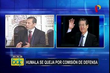 "Humala sobre tema Fujimori: ""Presidente Kuczynski tiene que ser claro"""