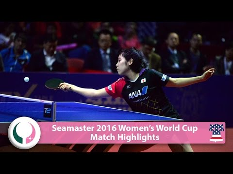 2016 Women's World Cup Highlights I Miu Hirano vs Cheng I-Ching (Final)