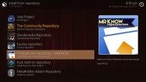 Kodi 17 - how to create a Kodi Build w/ Mimic Skin - Part 03 - Skin/Addons Install/Config