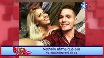 Nathaly Carvajal nuevamente opina sobre la relación de su ex Rogger Guillén