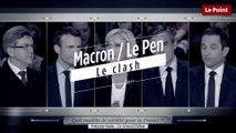 """Emmanuel Macron à Marine Le Pen : """"Je ne vous fais pas parler, je n'ai pas besoin d'un ventriloque"""""""