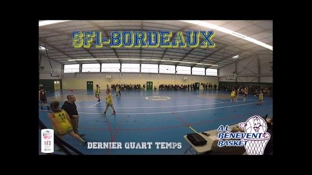 SF1-Bordeaux, dernier quart temps