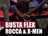 Busta Flex, Rocca & X-Men en freestyle [Part. 1] #PlanèteRap