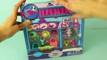 Littlest Pet Shop Toy Review Shopping Sweeties LPS Toys Zoe Trent, Turtle, Peacock, Cat