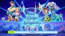 Disney Magic Kingdoms - Gameplay Walkthrough Part 1 - Level 1-3 (iOS, Android)