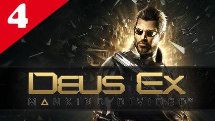 Deus Ex : Mankind Divided #04 - Difficile | Let's Play en direct FR
