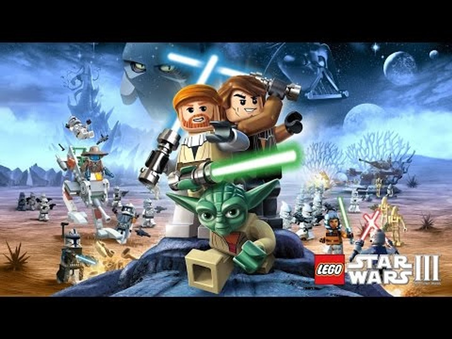#LEGO Star Wars 3 The Clone Wars Full Game Movie - LEGO Movie Cartoon for Children & Kids