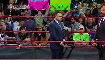 Triple H Returns _ laid down his WrestleMania terms for Seth Rollins - WWE Raw 20 March 2017