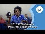 2016 ITTF-Oceania Para Table Tennis Camp