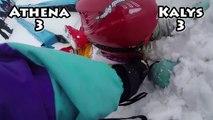 7 SECONDS CHALLENGE • Challenges entre soeurs dans la neige - Studio Bubble